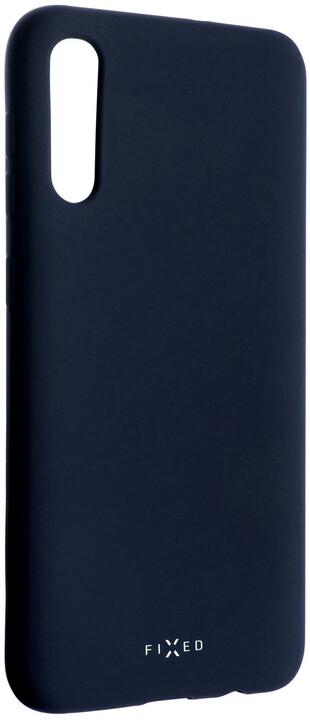 FIXED zadní pogumovaný kryt Story pro Samsung Galaxy A50, modrá