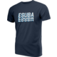 Tričko eSuba Echo, modré (S)