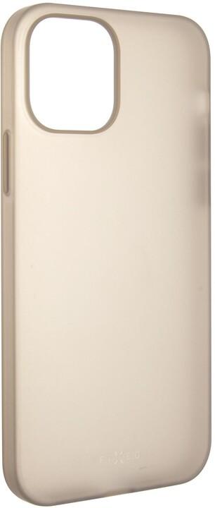 FIXED zadní kryt Flow pro Apple iPhone 12/12 Pro, kouřová