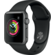 Apple Watch 38mm Space Grey Aluminium Case with Black Sport Band  + 300 Kč na Mall.cz