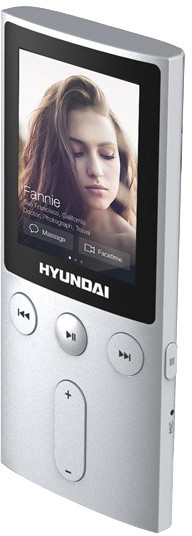 Hyundai MPC 501, 8GB, stříbrná