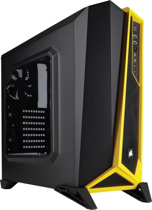 Corsair Carbide SPEC-ALPHA, černo-žlutá