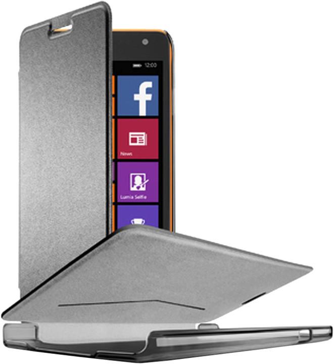 CellularLine Essential Book pouzdro pro Microsoft Lumia 535, černá