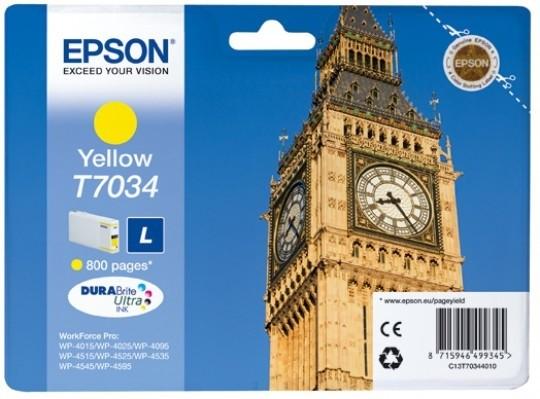 Epson C13T70344010, L, Yellow