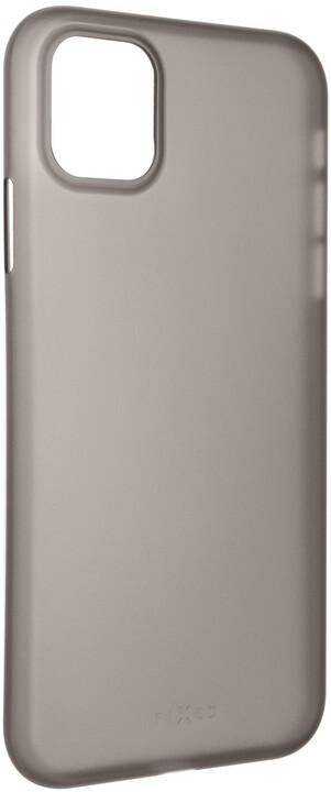 FIXED ultratenké kryt Peel pro Apple iPhone 11, 0.3mm, kouřová