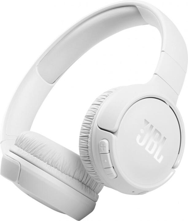 JBL Tune 510BT, bílá