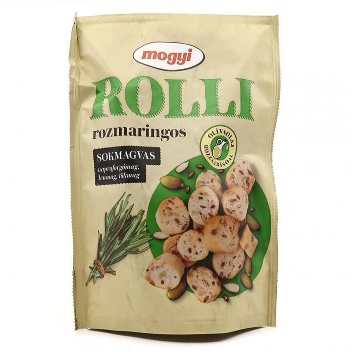 Mogyi Roll krekry s rozmarýnovou příchutí 90 g