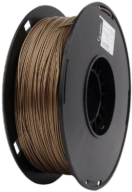 Gembird tisková struna (filament), PLA+, 1,75mm, 1kg, zlatá