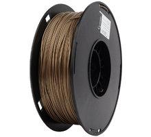 Gembird tisková struna (filament), PLA+, 1,75mm, 1kg, zlatá - 3DP-PLA+1.75-02-GL