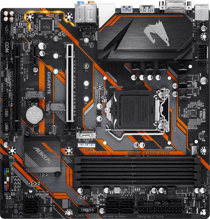 GIGABYTE B365M AORUS ELITE - Intel B365