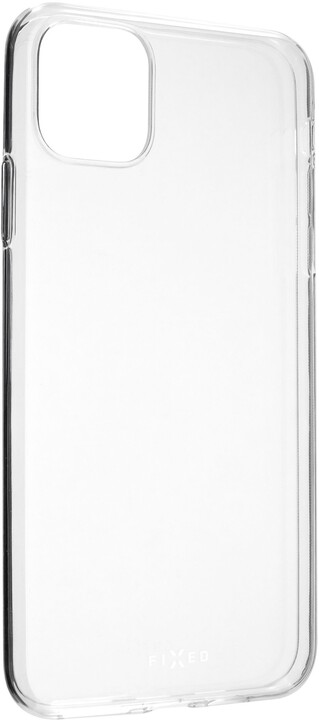FIXED ultratenké TPU gelové pouzdro Skin pro Apple iPhone 11 Pro Max, 0,6 mm, čiré