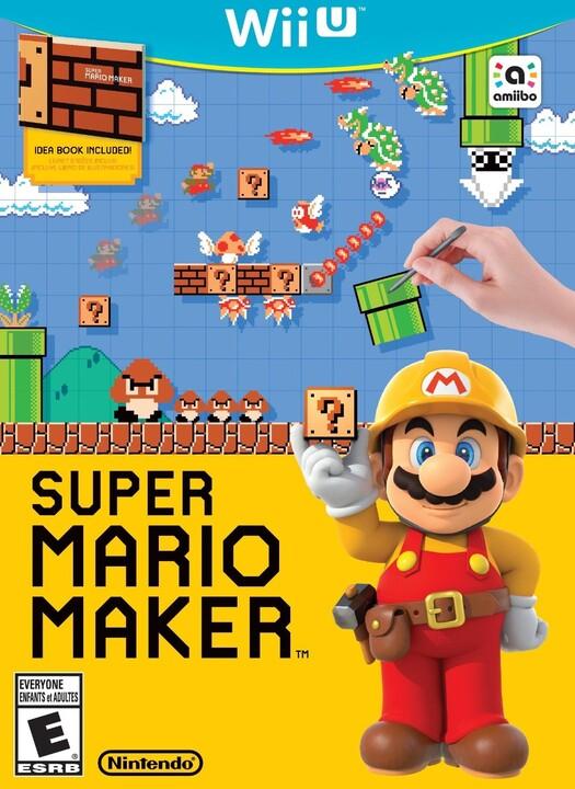 Super Mario Maker + Artbook (WiiU)