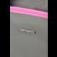 "Samsonite Nefti BAILHANDLE 15.6"" Rock Grey/Fuchsia"