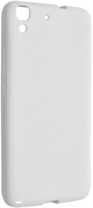 FIXED pouzdro pro Huawei Y6, bílá