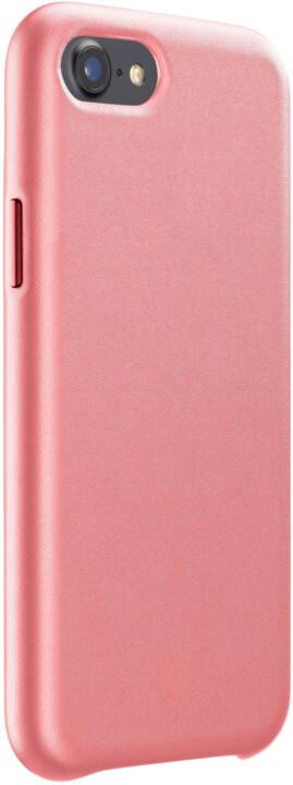 CellularLine ochranný kryt Elite pro Apple iPhone 6/7/8/SE (2020), PU kůže, oranžová