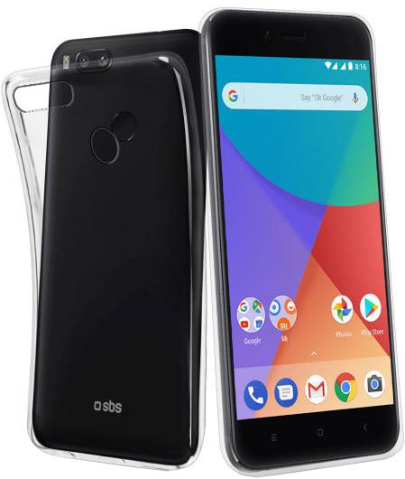 SBS Skinny pouzdro pro Xiaomi Mi A1, transparentní