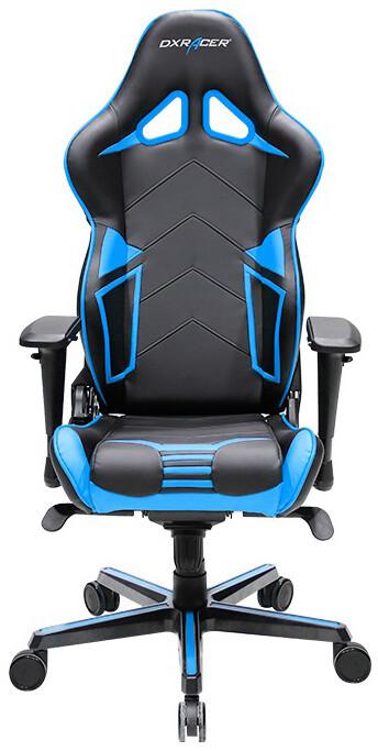 DXRacer Racing OH/RV131/NB, černá/modrá
