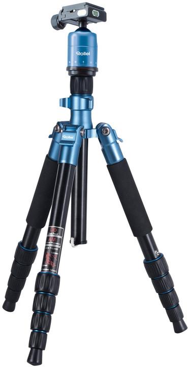 Rollei Stativ Compact Traveler No. 1, modrý