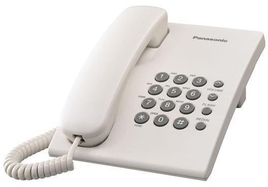 Panasonic KX-TS500FXW, bílá
