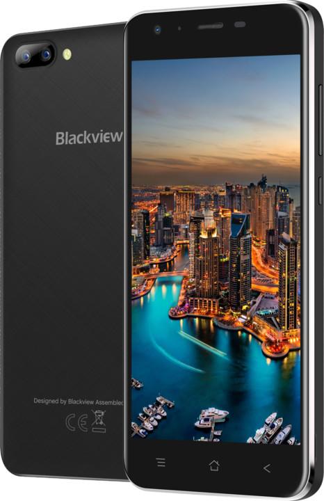 iGET BLACKVIEW GA7, 3G, černá