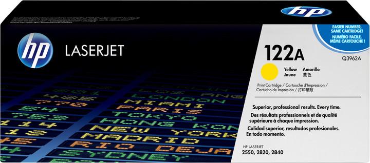HP Q3962A, žlutý