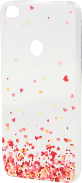Epico Pružný plastový kryt pro Huawei P9 Lite (2017) FLYING HEARTS