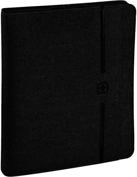 "WENGER AFFILIATE - 10"" business organizátor s pouzdrem na tablet, černý"