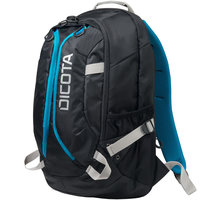 "DICOTA Active XL - Batoh na notebook - 17.3"" - černá, modrá - D31223"