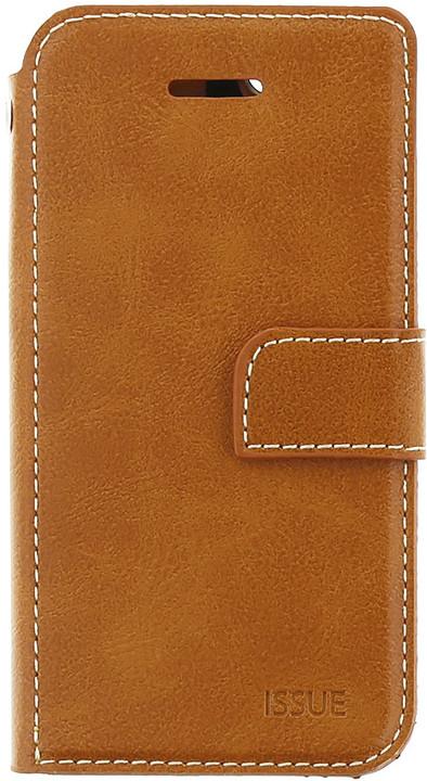 Molan Cano Issue Book Pouzdro pro Xiaomi Redmi Note 5A, hnědá