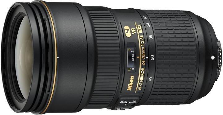 Nikon objektiv Nikkor 24-70mm f/2.8E ED AF-S VR