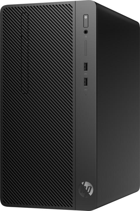 HP 290 G2 MT, černá