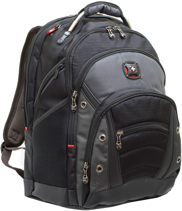 """WENGER SYNERGY - 16"""" batoh na notebook, šedivý/černý"""