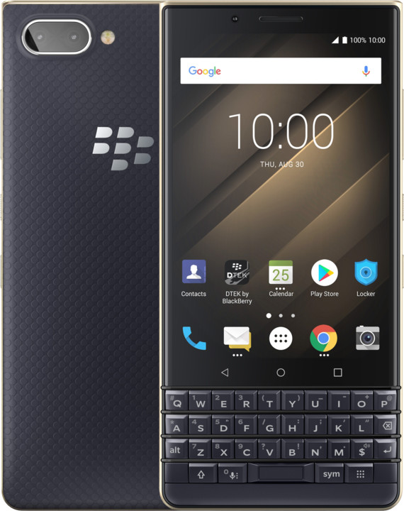 BlackBerry Key 2 LE, 4GB/64GB, Dual Sim, modro/zlatá