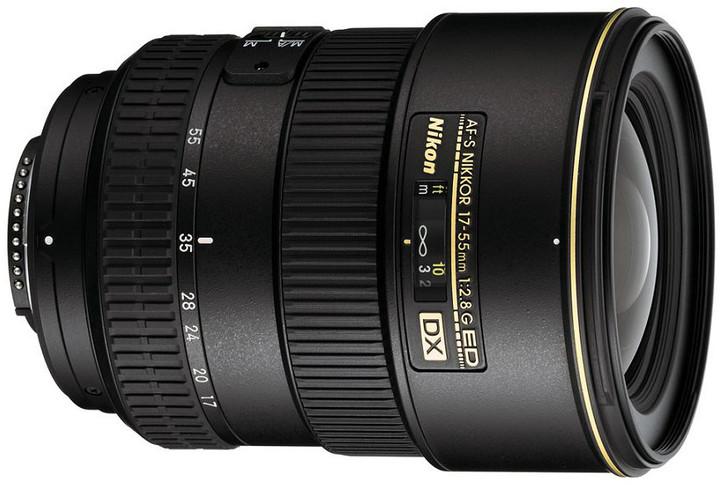 Nikon objektiv Nikkor 17-55mm f/2.8G ED-IF AF-S DX