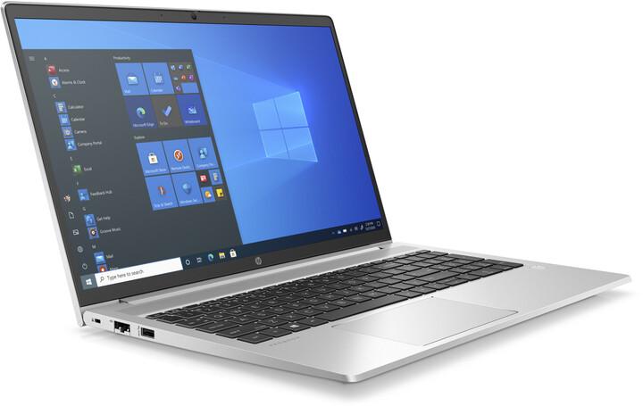 HP ProBook 450 G8, stříbrná