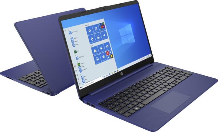 HP 15s-eq, modrá