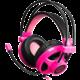 C-TECH Helios (GHS-07P), černo/růžová
