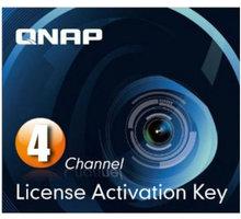 QNAP licenční balíček pro kamery - 4 kamery - LIC-SW-SURVEILLANCE-4CH-EI