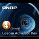 QNAP licenční balíček pro kamery - 4 kamery  + Voucher až na 3 měsíce HBO GO jako dárek (max 1 ks na objednávku)