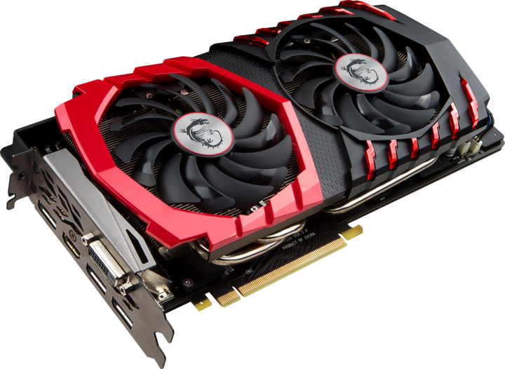 MSI GeForce GTX 1080 GAMING+ 8G, 8GB GDDR5X