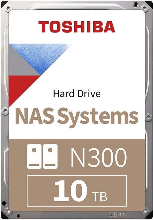 """Toshiba N300 NAS, 3,5"""" - 10TB"""