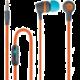 Forever JSE-200 přenosná stereo sluchátka (TFO-N) 3,5mm Jack s mikrofónem, active
