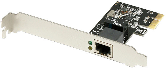 AXAGON PCI-Express Gigabit Ethernet Realtek + LP