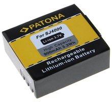 Patona baterie pro SJCAM SJ4000/ Rollei AC300/300Plus, 900mAh Li-Ion - PT1228
