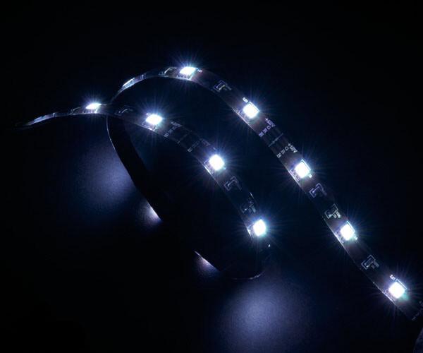 Akasa AK-LD02-05WH LED pásek, 60 cm, bílá