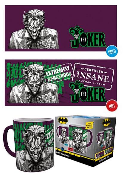 Hrnek DC Comics - Joker (měnící se)
