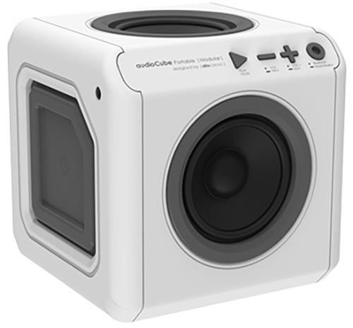 AudioCube Portable Modular, bílá