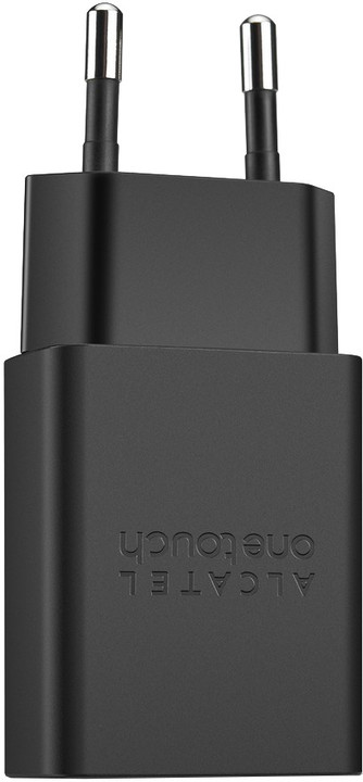 ALCATEL AC Charger microUSB 1A, UC11, Black
