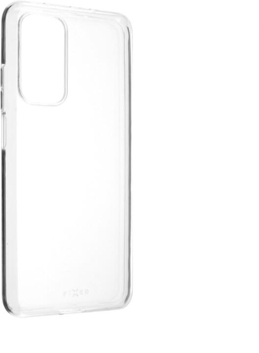 FIXED ultratenké TPU gelové pouzdro Skin pro Xiaomi Mi 10T, 0.6 mm, čirá