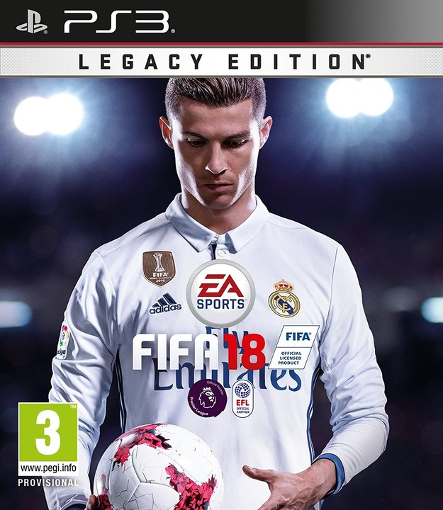 FIFA 18 - Legacy Edition (PS3)